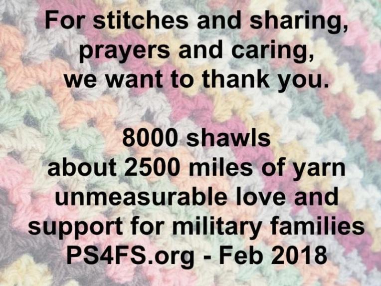 8000 Prayer Shawl